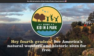 https://www.everykidinapark.gov/ delivers parks information for free