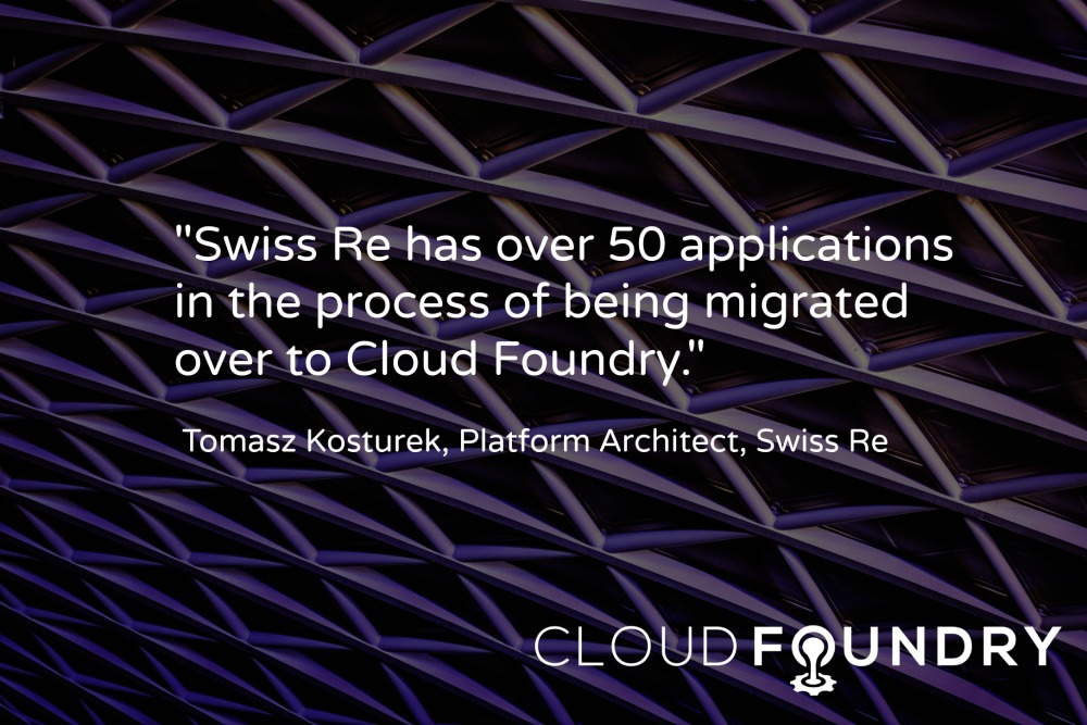Swiss Re and Cloud Foundry
