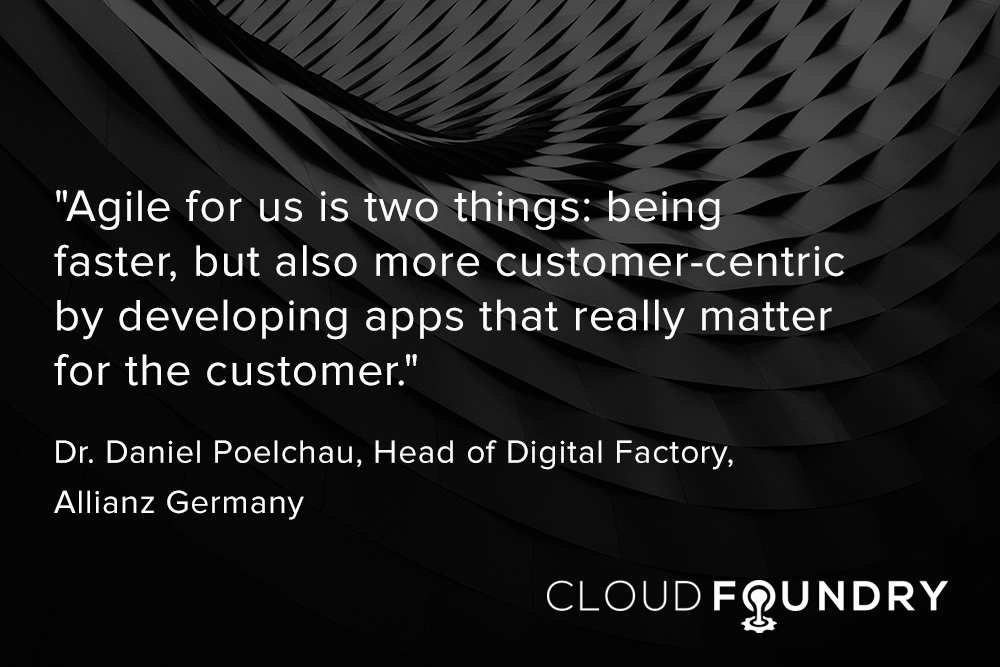 Allianz cloud foundry case study