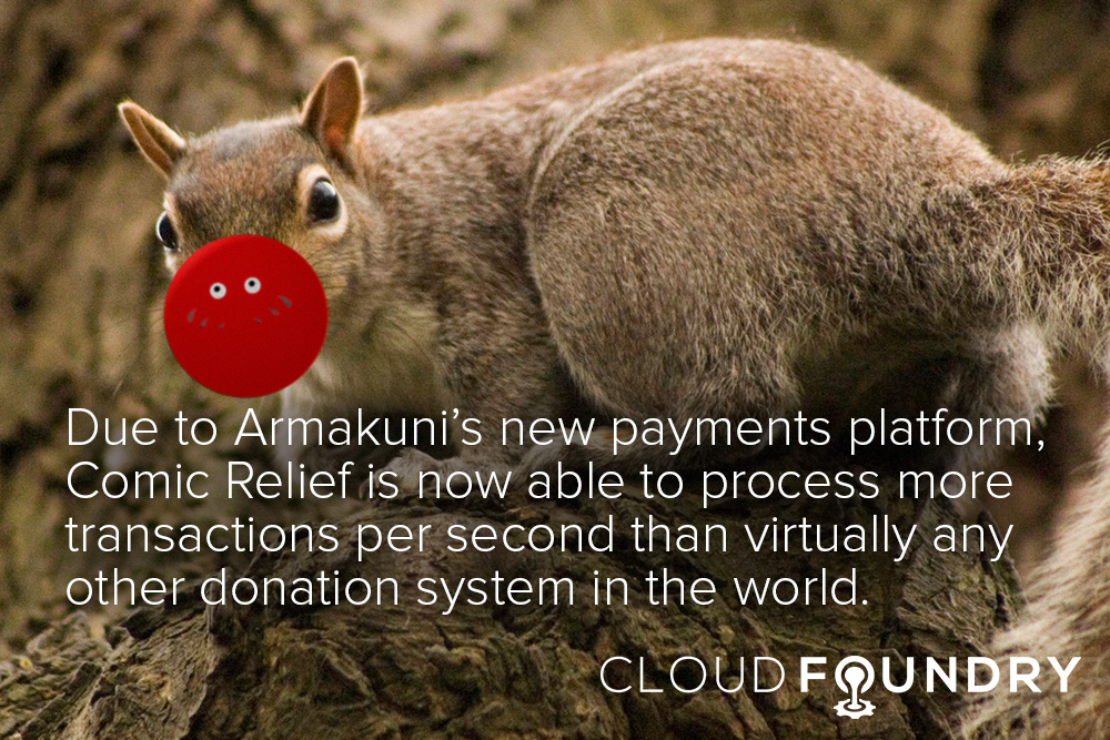 comic relief cloud foundry case study