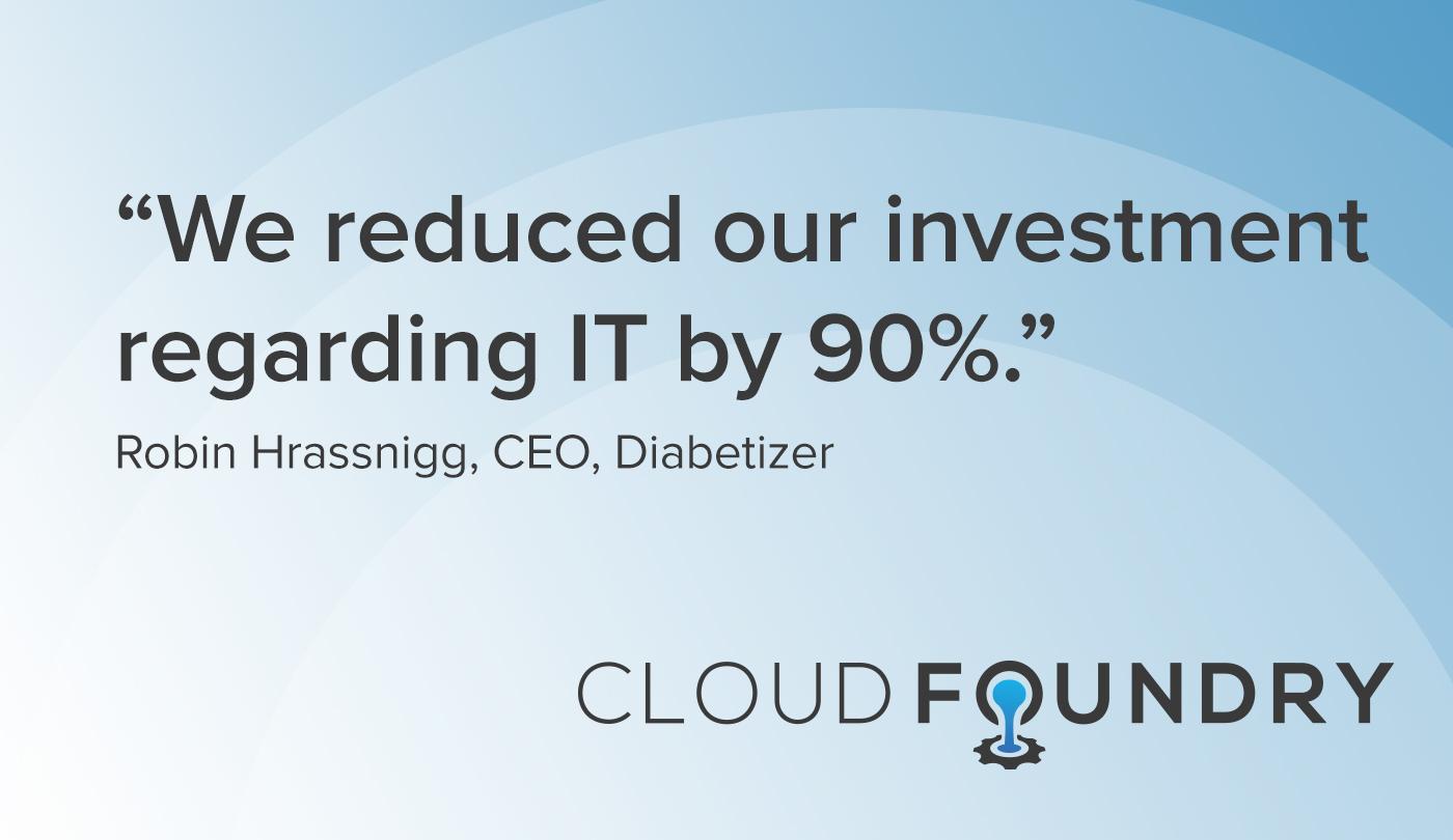 Diabetizer cloud foundry case study