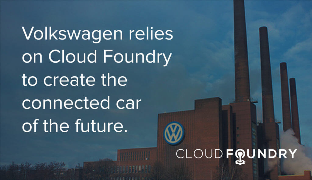 volkswagen cloud foundry