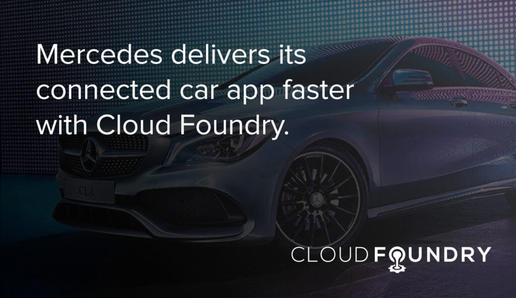 Mercedes Benz cloud foundry