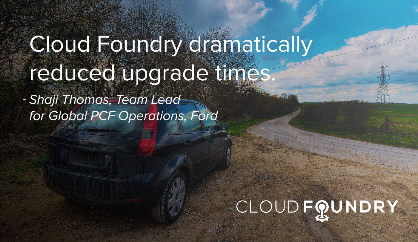 Ford Cloud Foundry case study