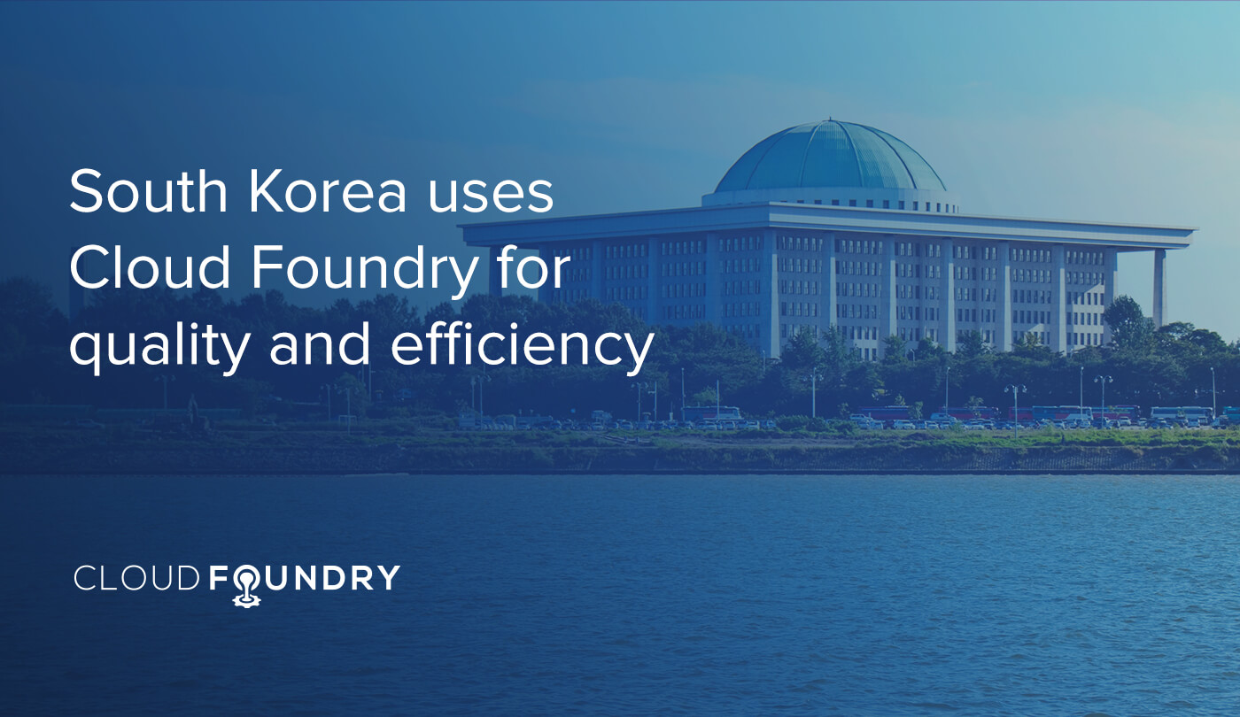 south korea cloud foundry case study