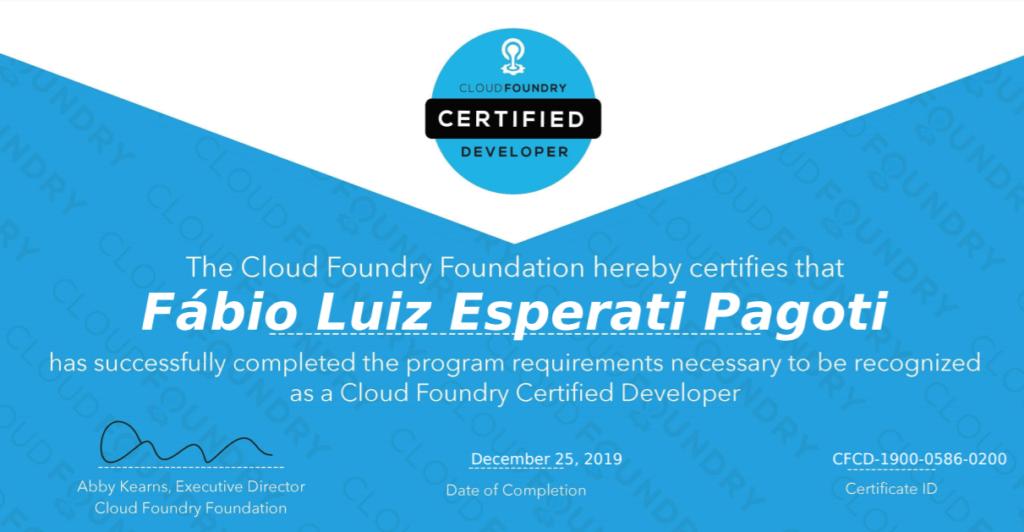 CFCD Certification
