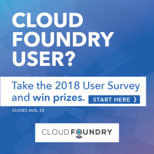 Do you use Cloud Foundry? Win a prize!