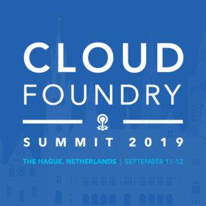 Deadline Tomorrow 5/31: CFP for Cloud Foundry EU Summit 2019
