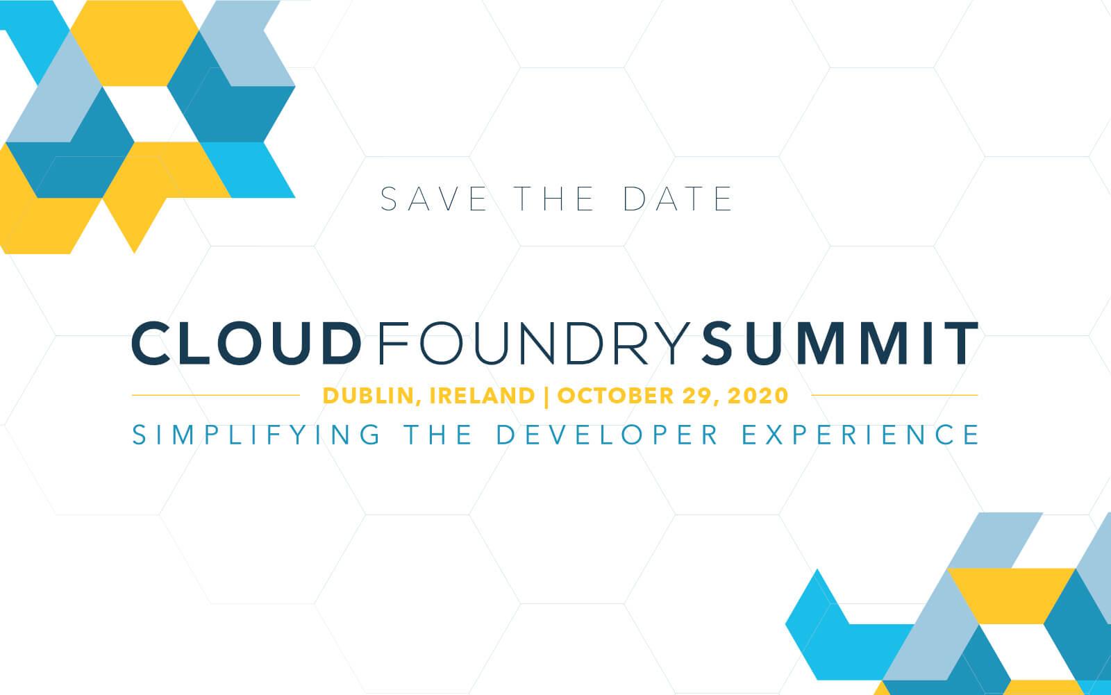 cloud foundry summit dublin ireland october 29 2020