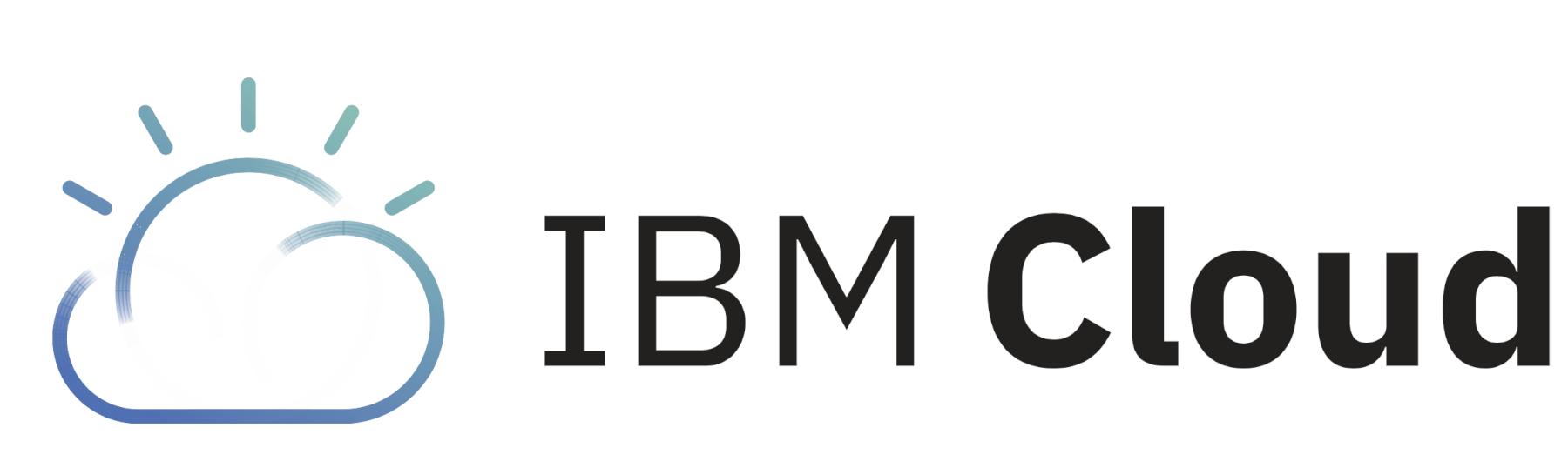 IBM cloud logo big
